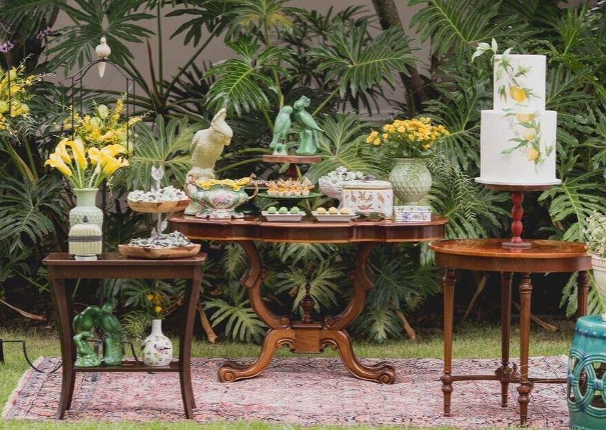 Decoração elegante e atemporal para o seu casamento: conheça o trabalho da decoradora Gabriela Brauns