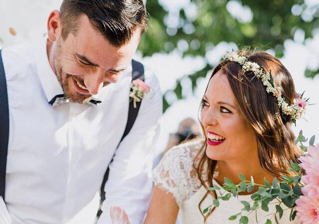 Mónica & Yaco: alegria e good vibes num casamento com pura magia