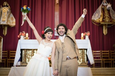 Mary Carmen y Esteban, una historia de amor que nació a partir de un ensayo