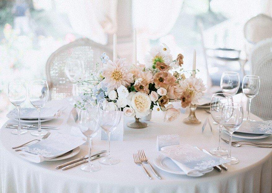 Свадьба в пастельных тонах: оттенки романтики!