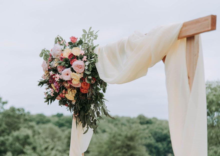 Cómo decorar la ceremonia de tu boda. ¡Impresiona a tus invitados desde el primer momento!