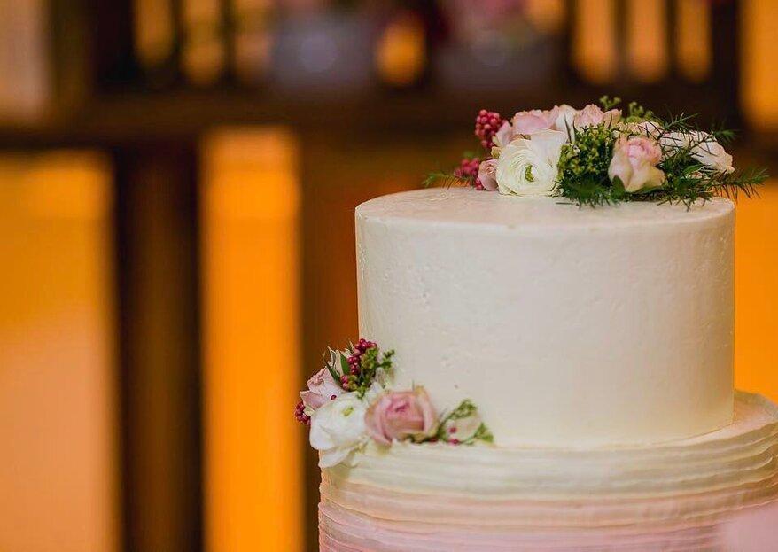 4 fornecedores de bolos e doces de casamento em Brasília: obras de arte feitas com açúcar para adoçar e decorar o grande dia!