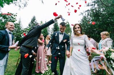Когда все плачут от счастья: свадьба Натальи и Юрия