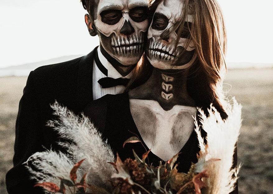 Ideias de decoração para o seu casamento com o tema Halloween: gostosura ou travessura?