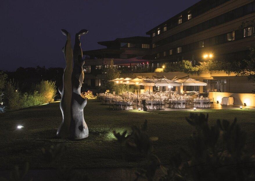 Matrimonio open air: scopri A.Roma Lifestyle Hotel