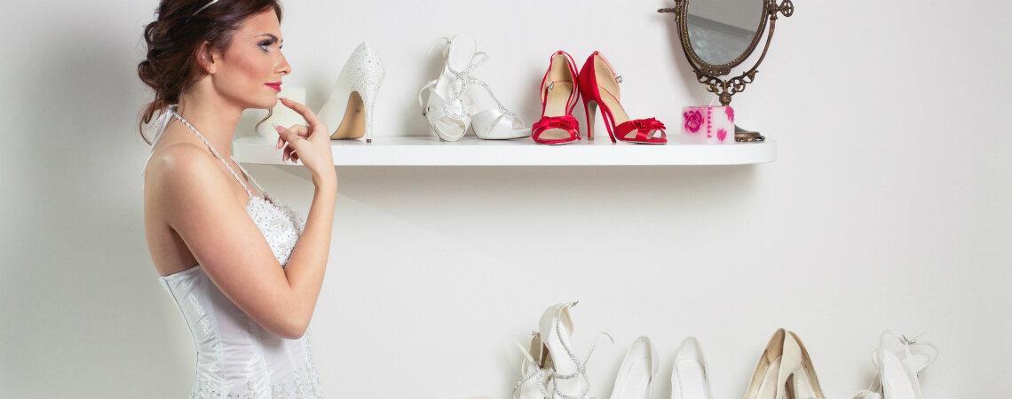 ¿Cómo elegir los zapatos de novia para el día del matrimonio? ¡Aprende a escoger el accesorio con el que caminarás hasta el altar!