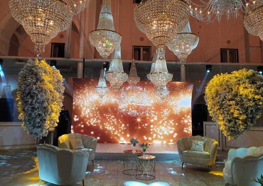 Palazzo Nemo Eventi, eleganza e classe per far rispendere il tuo matrimonio