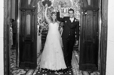 Casamento rústico chic de Ana Laura e Fernando: super produzido e mega animado!