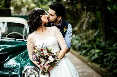 Casamento vintage mega colorido de Ray & Gui: ao ar livre e personalizadíssimo!