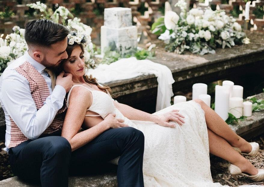 O dia do deu casamento: deixe-se apaixonar perdidamente por esta data!