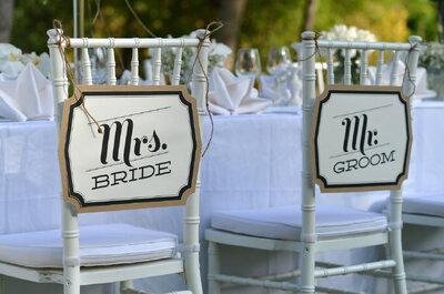 Decorar las sillas de tu boda jamás había sido tan genial: Inspírate en estas 18 magníficas ideas
