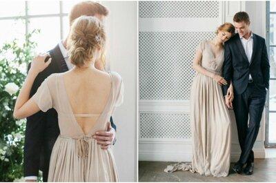 Дыхание холода: свадебная фотосессия в оттенках серого графита