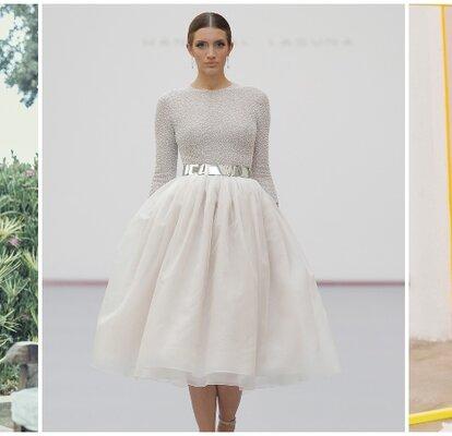 4f3c5044d Vestidos de novia para boda civil, ¡diseños que no querrás dejar escapar!