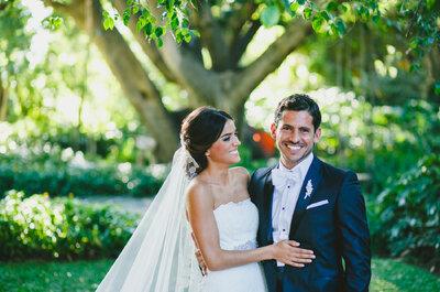 La boda que siempre soñaste: Inspírate en el gran día de Pamela e Iñaki