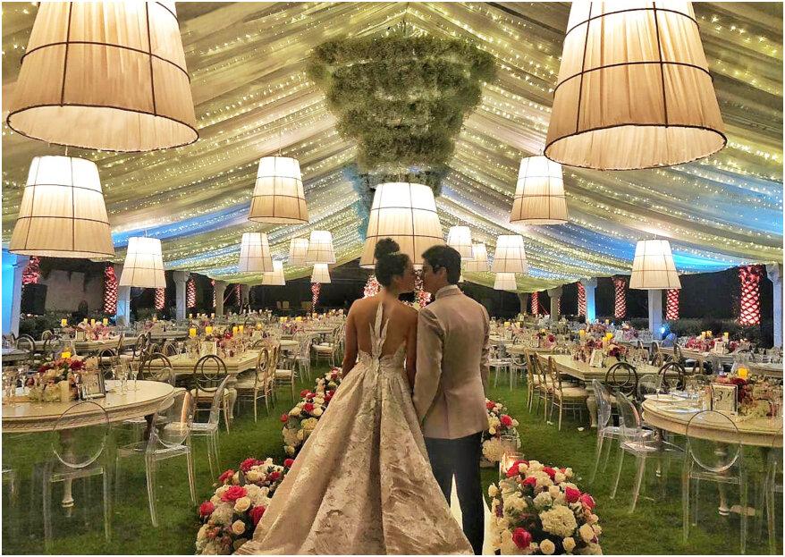 Las decoraciones de boda preferidas por los colombianos: ¿cuál es tu favorita?