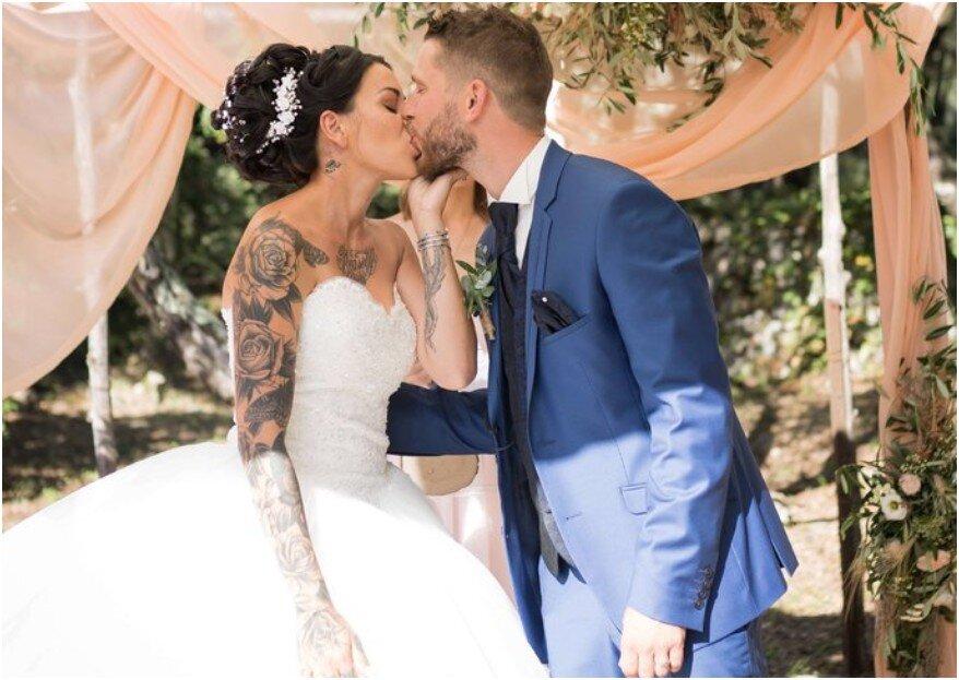 Mariée tatouée : 4 conseils d'expert pour
