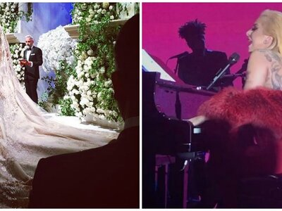 Impressionante boda de 10 milhões de dólares com espectáculo de Lady Gaga incluído