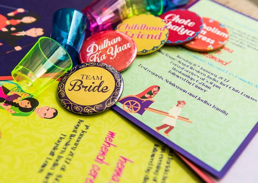 Top 5 Unique Touches For Your Wedding Invitations