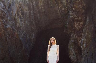 Un vestido de Yolan Cris único frente al mar