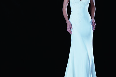 Bridal gowns by Cymbeline 2015: Beautiful feminine silhouettes