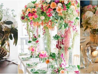 Las ideas más atractivas para tus centros de mesa en Pinterest