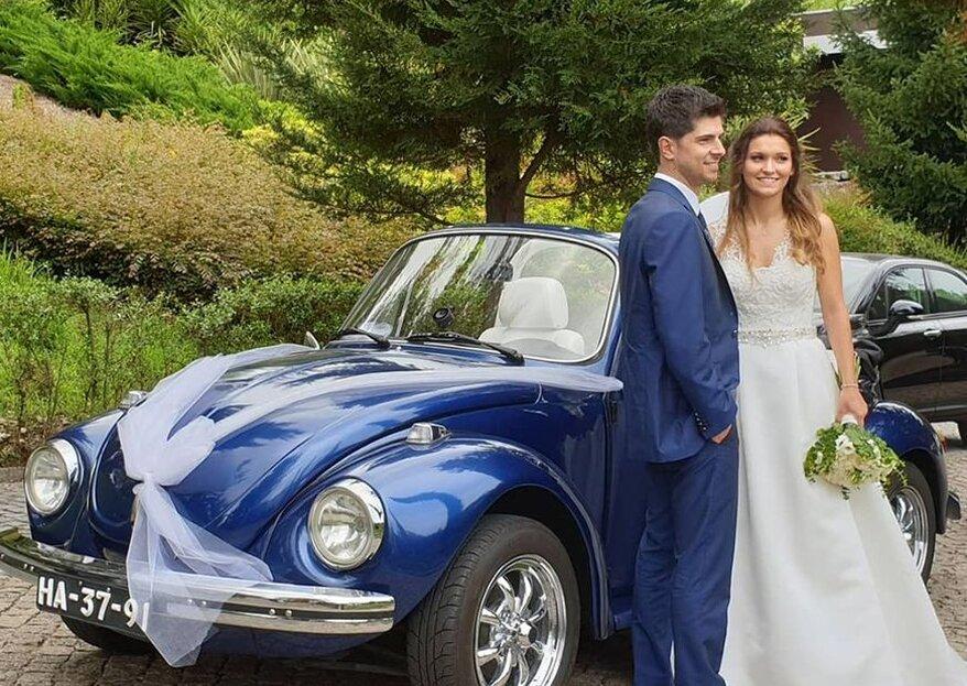 Transporte-se com estilo no dia do seu casamento!