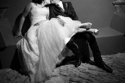 ¿Quieres una boda diferente, romántica y divertida? Consíguela con estos 5 consejos