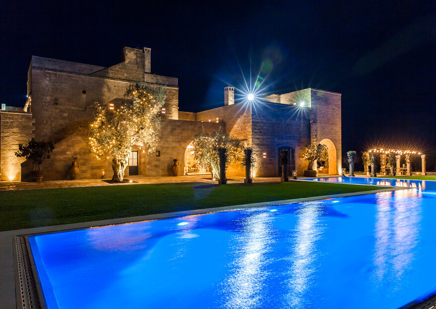 Pettolecchia La Residenza: luxury, charm, and plenty of love for your Apulian wedding!