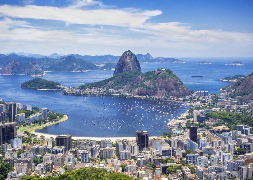 Lua-de-Mel no Rio de Janeiro: deixe a festa começar!