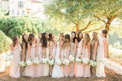 16 cosas que NUNCA en la vida debes decirle a tus damas de boda
