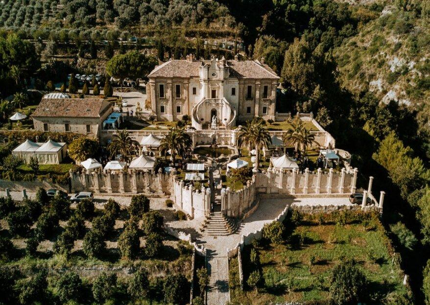 Villa Caristo: una dimora storica settecentesca, unico esempio di arte barocca in Calabria in cui sposarsi