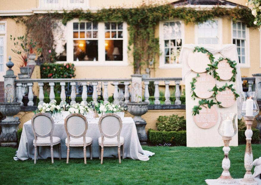 Cómo hacer el 'seating plan' para mi boda en 5 pasos