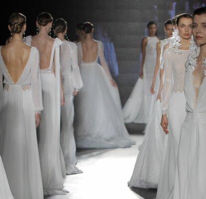 c63f43f549 Vestidos de novia Rosa Clará 2019  una colección que te encantará de  principio a fin
