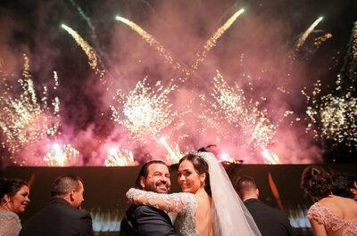 Priscila & Djalma: casamento clássico MEGA luxuoso com diversas atrações em Goiás!