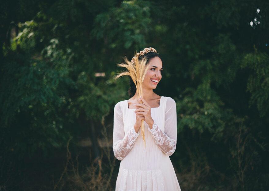 Los seis tipos de manga larga para vestidos de novia más demandados. ¡Moda de éxito para los días más fríos!
