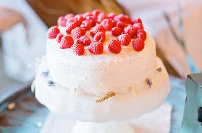 La foto de la semana: Tarta de merengue y frambuesas