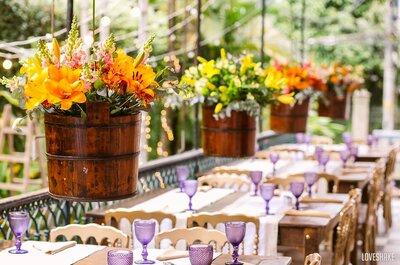 Antes de escolher a decoração do seu casamento, tenha a resposta para essas 5 perguntas!