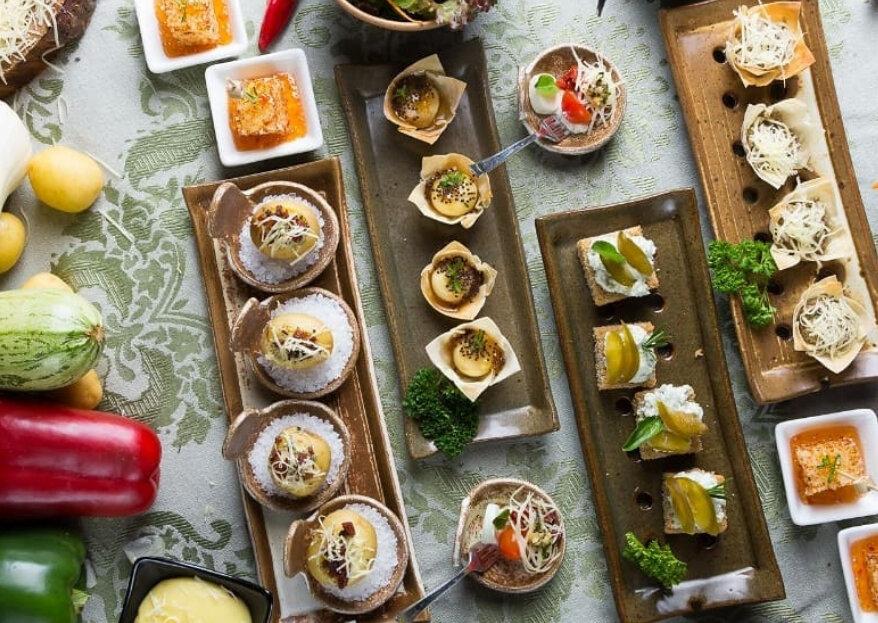 Organizando um menu de casamento vegetariano? Veja dicas incríveis!