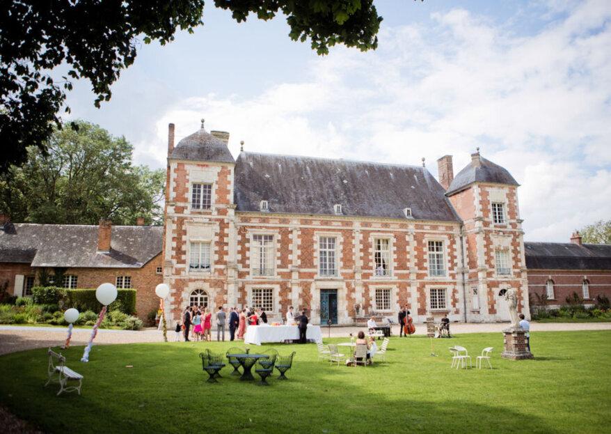 Les plus beaux châteaux de Normandie pour un magnifique mariage champêtre !