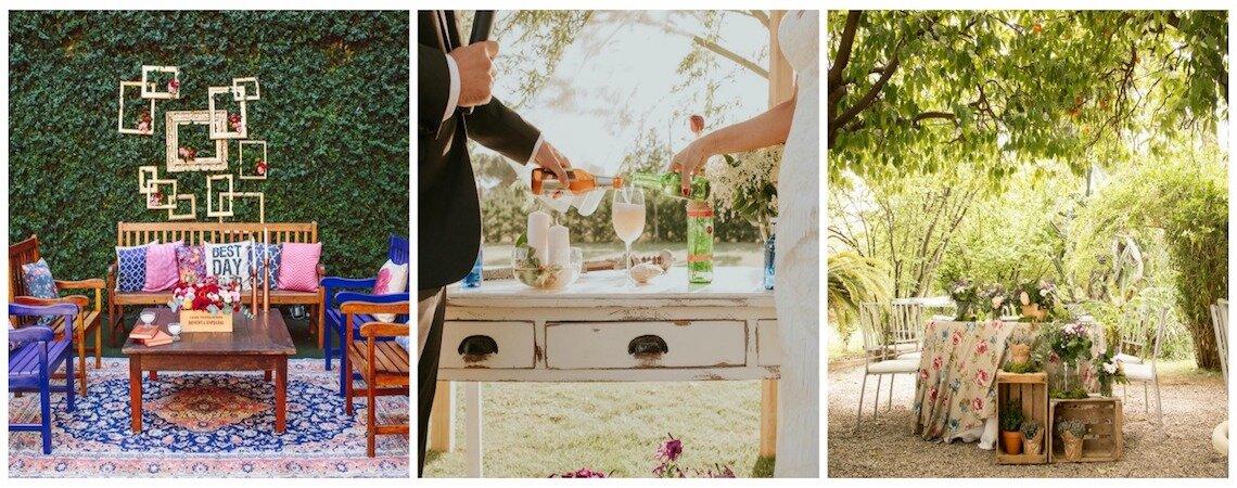 ¿Cómo organizar tu matrimonio en casa? ¡A celebrar el amor en un ambiente íntimo y cercano!