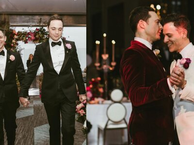 ¡Jim Parsons se casa en Nueva York! Así fue la boda de Sheldon Cooper