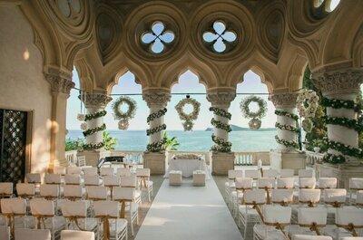 Juliana e Simão: un esclusivo matrimonio sull'isola privata del Garda