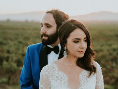 Naturaleza mágica y un amor perfecto: La boda de Alicia y Chris