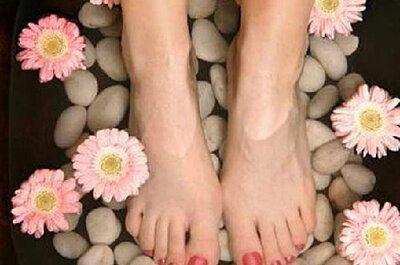 Prepara tus pies para la boda