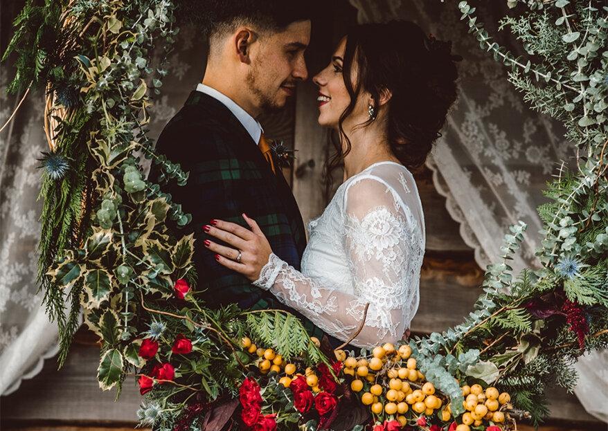6 boas razões para casar no Natal,num clima intimista, familiar e com muito amor!