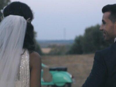 De niños a adultos con una historia de amor de por medio: la boda de José María y María José