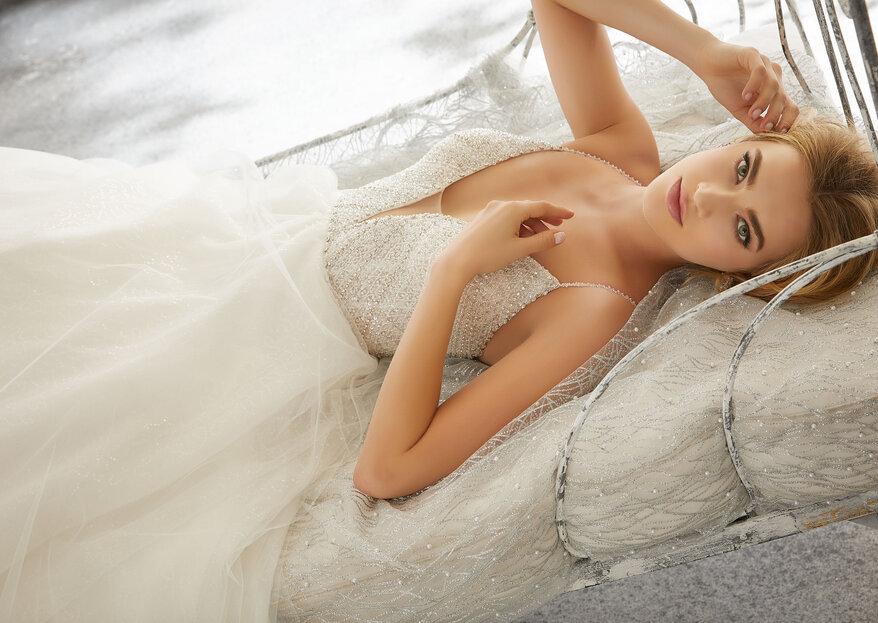 El vestido novia de tus sueños de la mano de Mori Lee Bridal, ¡conoce sus mágicos diseños!
