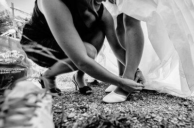 Wie Sie die perfekten Brautschuhe für Ihren Brautlook auswählen! So sorgen Bräute für den perfekten Auftritt