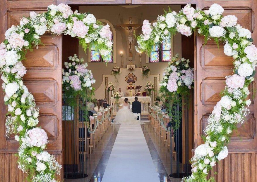 Fiorista Pasquale Carrella: tutta l'esperienza di quattro generazioni alle tue nozze