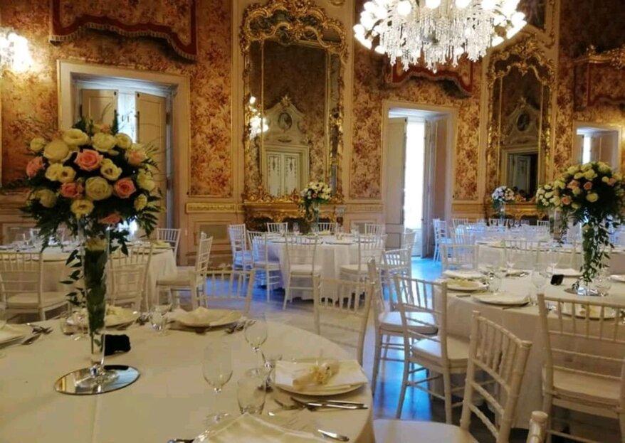 Non solo una wedding planner, ma anche una designer che curi ogni dettaglio delle nozze: Roxana Wedding Planner